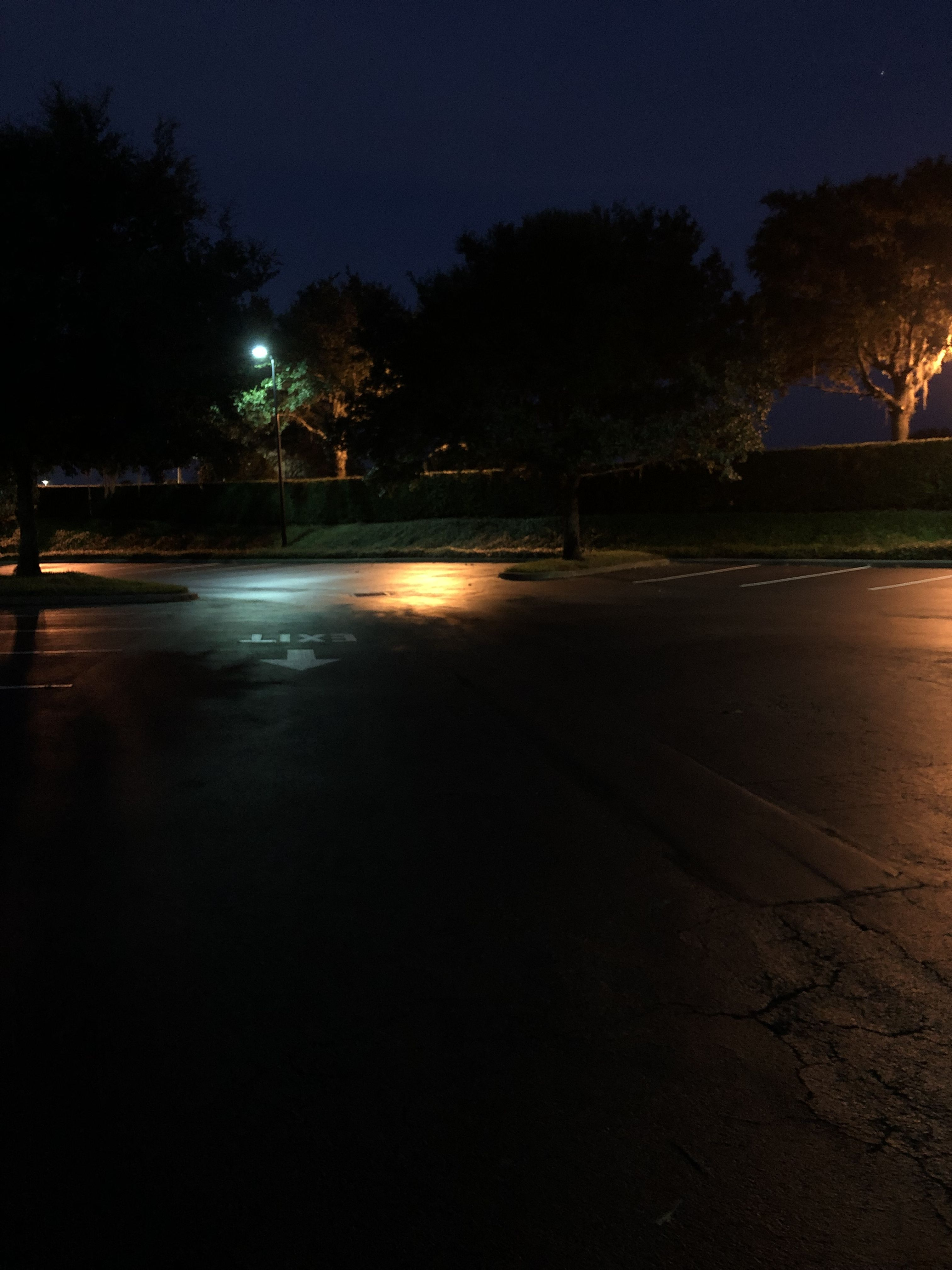 Late Night Parking Lot Dream Dates Night Aesthetic Night Vibes