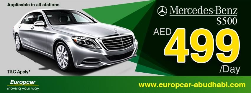 Mercedes S500 A Wow Rate Of Just 499 Aed Day For More Information