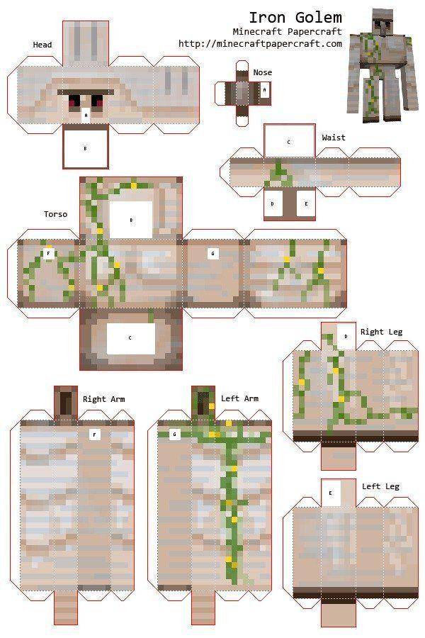 Minecraft Printables Minecraft Crafts Minecraft Templates