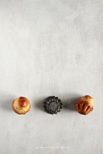 Briochettes à tête | Food. Art + Style. Photography: Christelle | Adoriamo il minimalismo in cucina. Anche la nostra pasticceria e il dolce da Breakfast è semplice e delicato  #Liguria #Breakfast #Hotel
