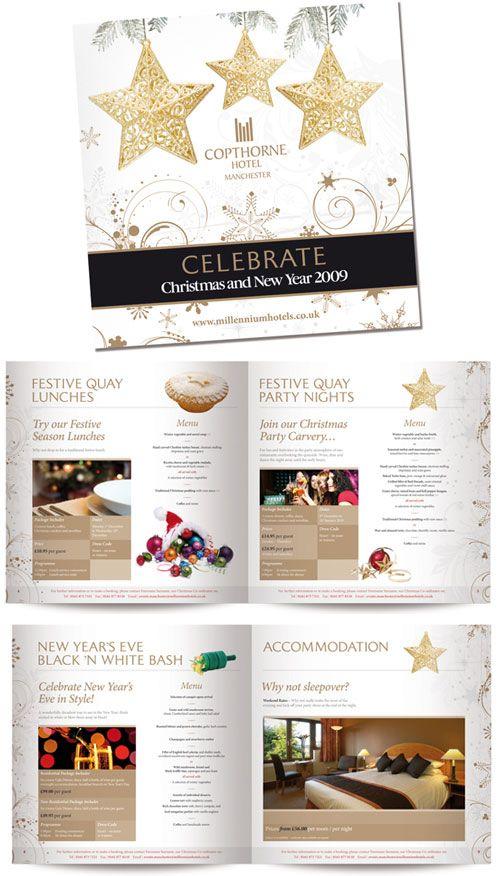 10 Beautiful Christmas Brochure And Catalogue Designs Christmas Brochure Catalog Design Brochure Design