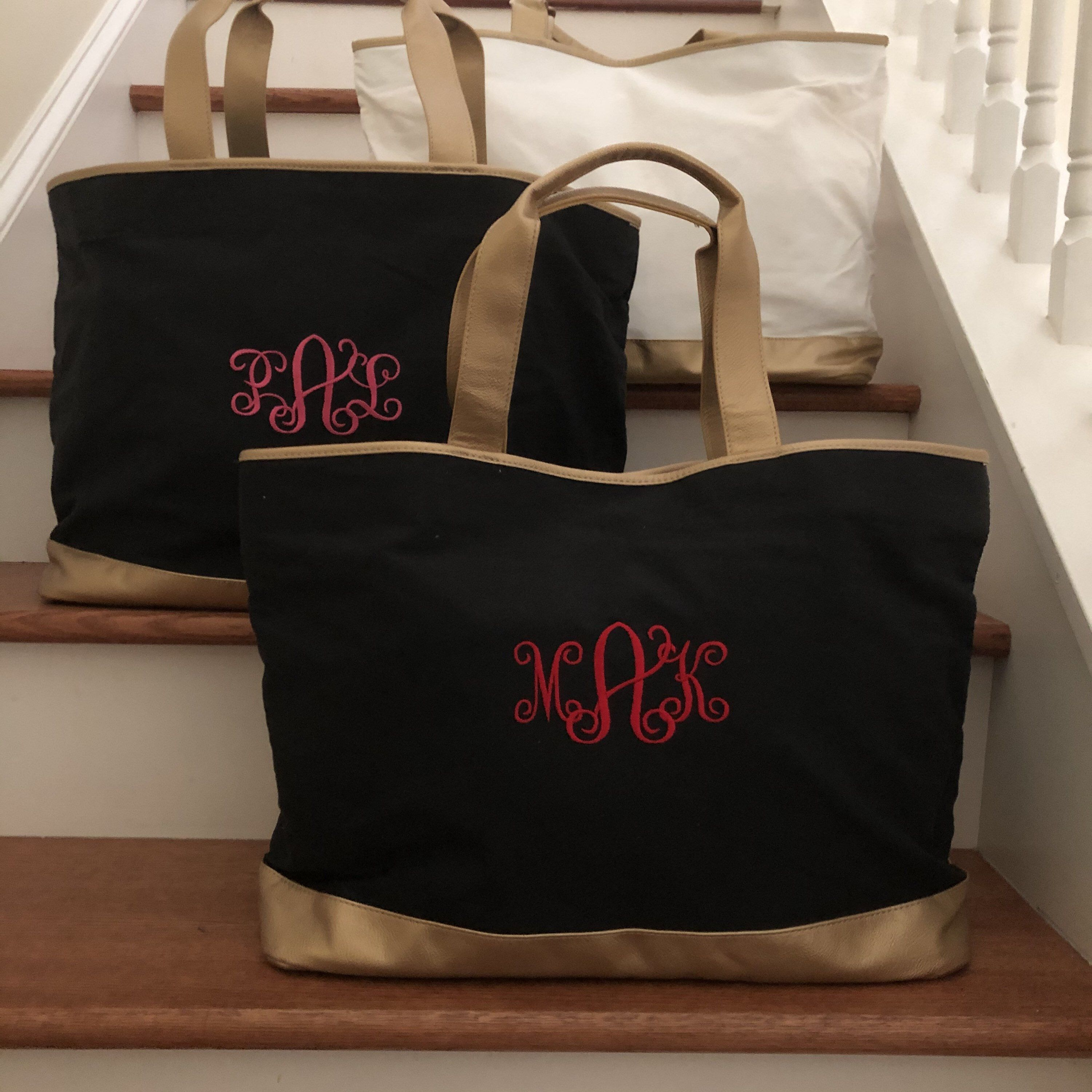 Beach Tote  Monogrammed  Graduation Gifts
