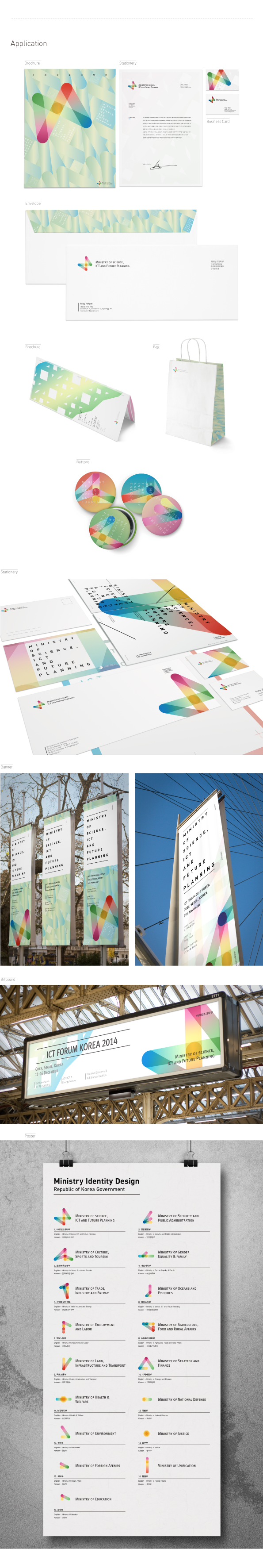 Republic of Korea Ministry Identity Design on Behance
