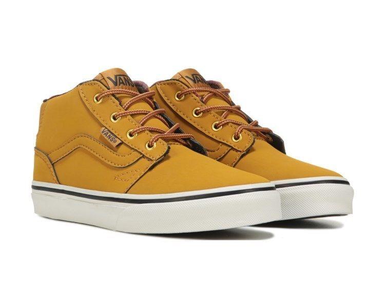ef2797b37f ... Toddler Oak Buff Black. Sneakers Vans Mens Chapman Mid Skate Shoes Buck  Spruse Black size 11.5 NEW 29.99 http