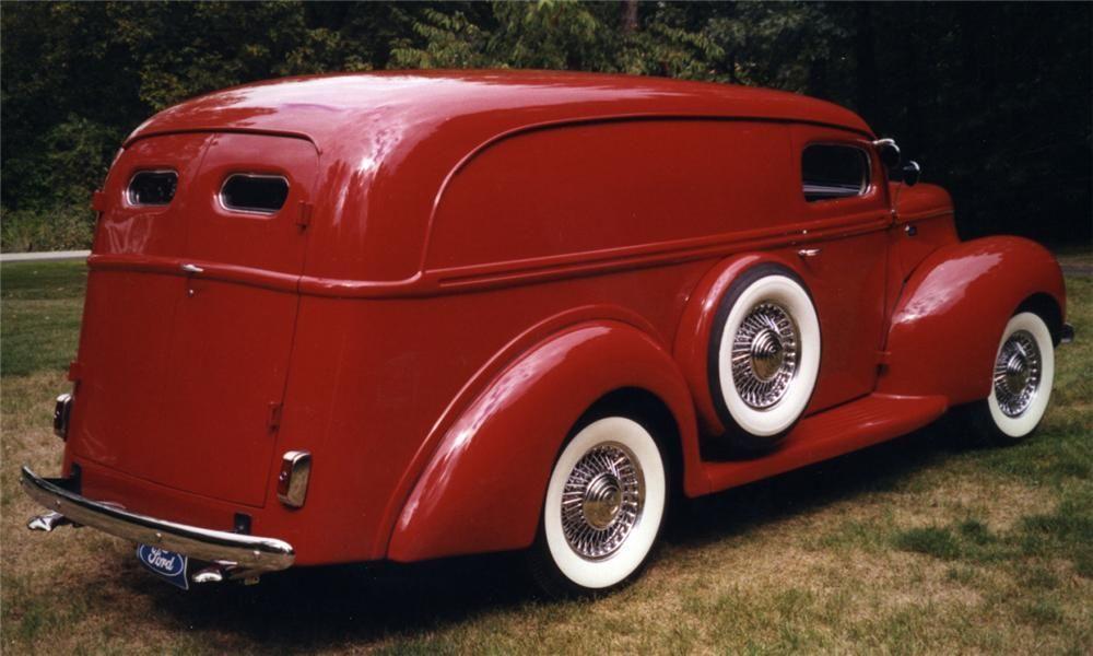 1940 FORD CUSTOM PANEL TRUCK - Barrett-Jackson Auction Company ...