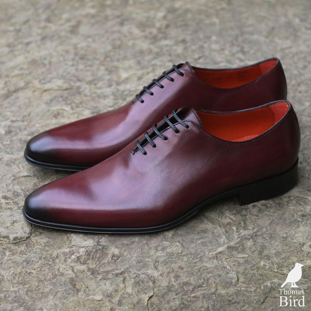 Oxblood Burgundy Wholecut Shoes  3e7adacd518
