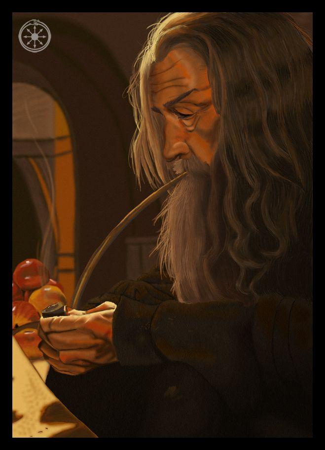 Gandalf the Grey by DameOdessa on DeviantArt