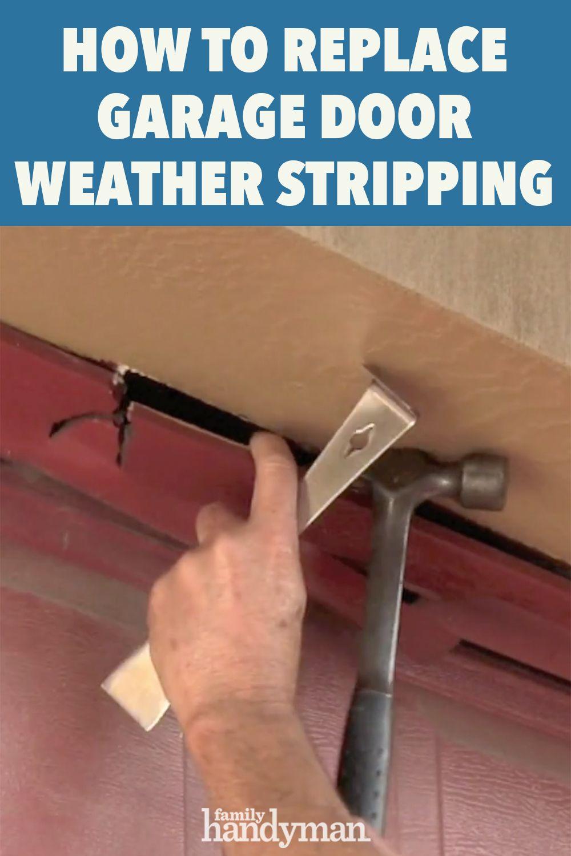 Garage Door Weatherstripping in 2020 Garage door weather