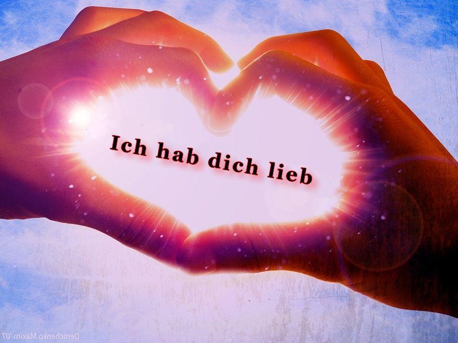 ich hab dich lieb bilder für whatsapp facebook | Mark | Love, Love ...