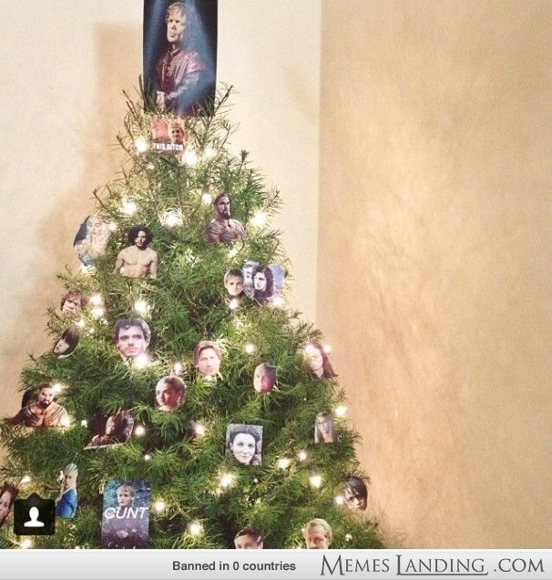 game of thrones xmas tree - Christmas Tree Game