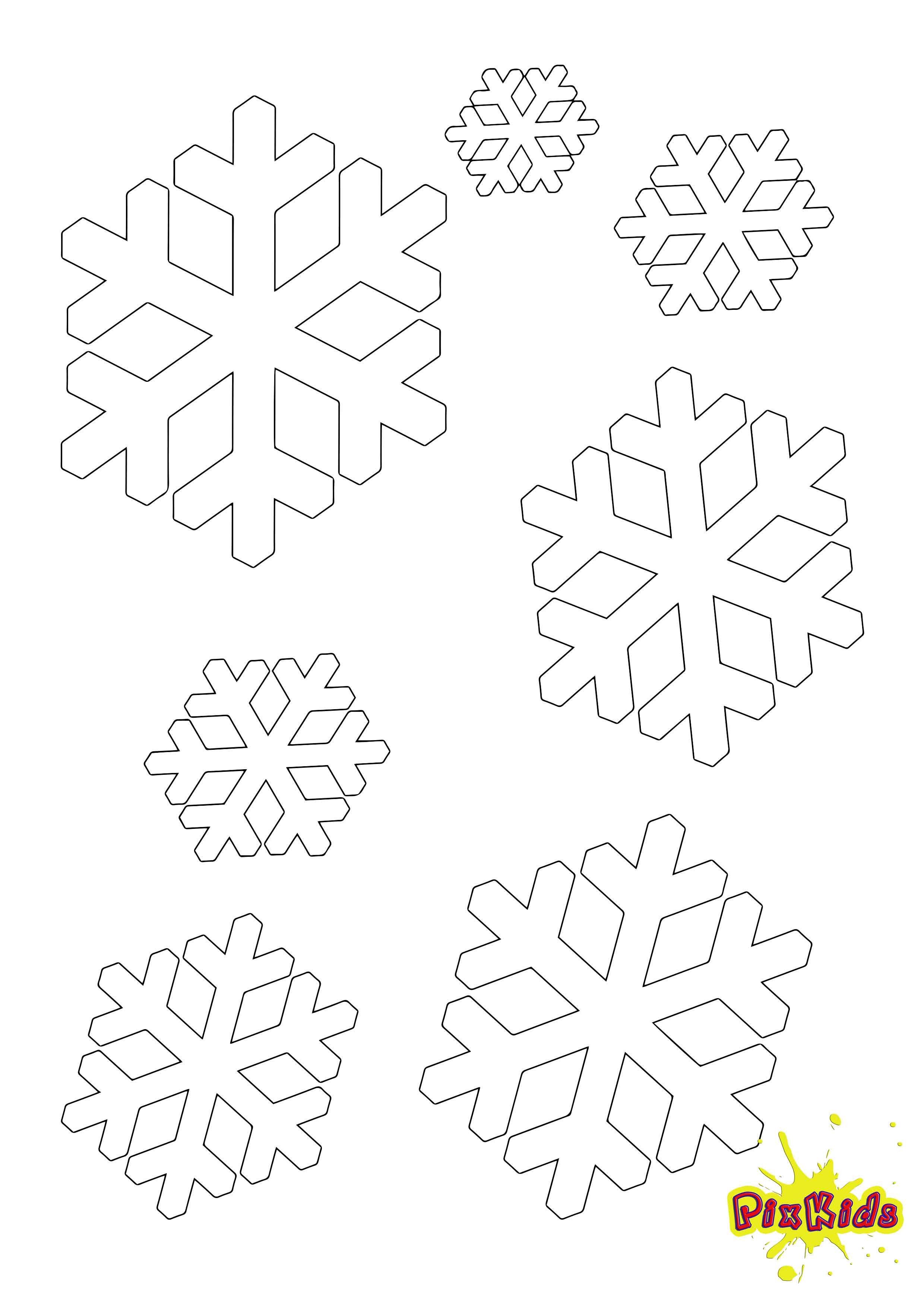 Ausmalbild Schneeflocke Kostenlos Schneeflocken Basteln Vorlage Schneeflocke Vorlage Schneeflocken Basteln