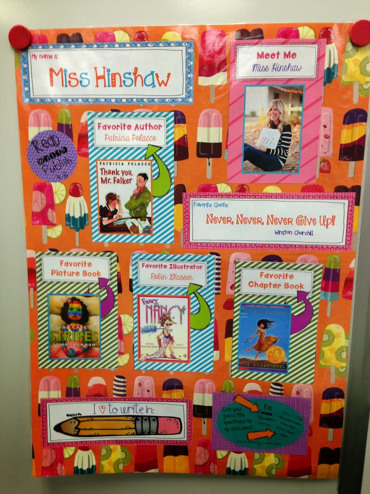 It's Monday | Ideas for 2014-2015 | Kindergarten posters ...