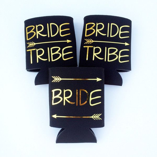 Here Comes The Bride With Some Awesome Nails: Bride Tribe Bride Tribe Coolies Bachelorette Coolies