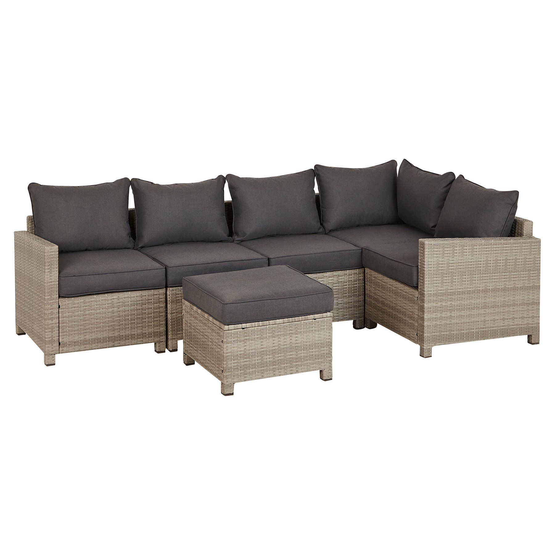 Magnificent Jakarta Corner Group Sofa Charcoal Garden Sofa Garden Gmtry Best Dining Table And Chair Ideas Images Gmtryco
