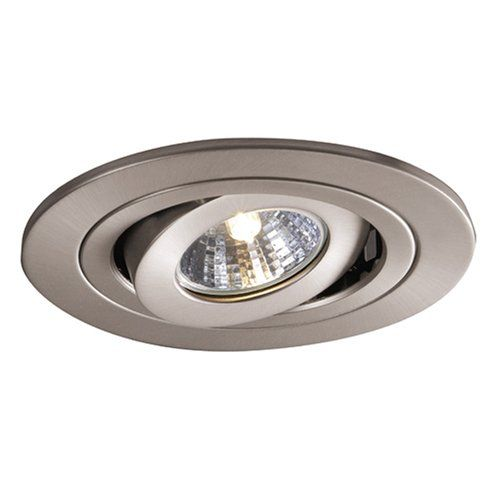 Halo 1495sn 4 Inch Satin Nickel Gimbal Trim Halo Recessed Lighting Layout Recessed Lighting Kits Recessed Lighting