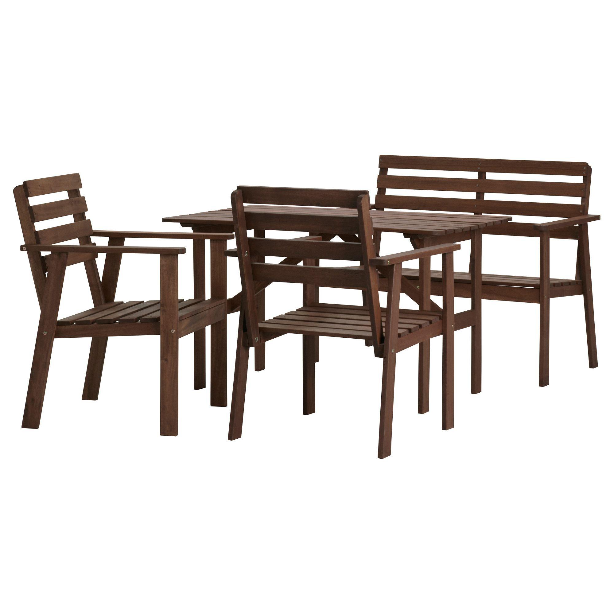 TULLERÖ Tisch, Bank und 2 Sessel - IKEA | züügs | Pinterest | Bänke ...