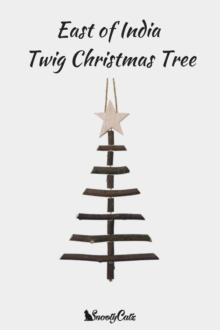 East of India Twig Christmas Tree Large | Christmas Cheer ...