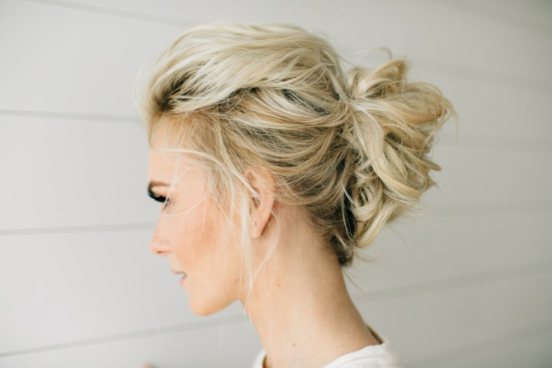Make It A Night To Remember With Inspiring Prom Beauty Tools Used Ghd Curve Creative Curl Wand An Thin Hair Updo Updos For Medium Length Hair Short Hair Updo