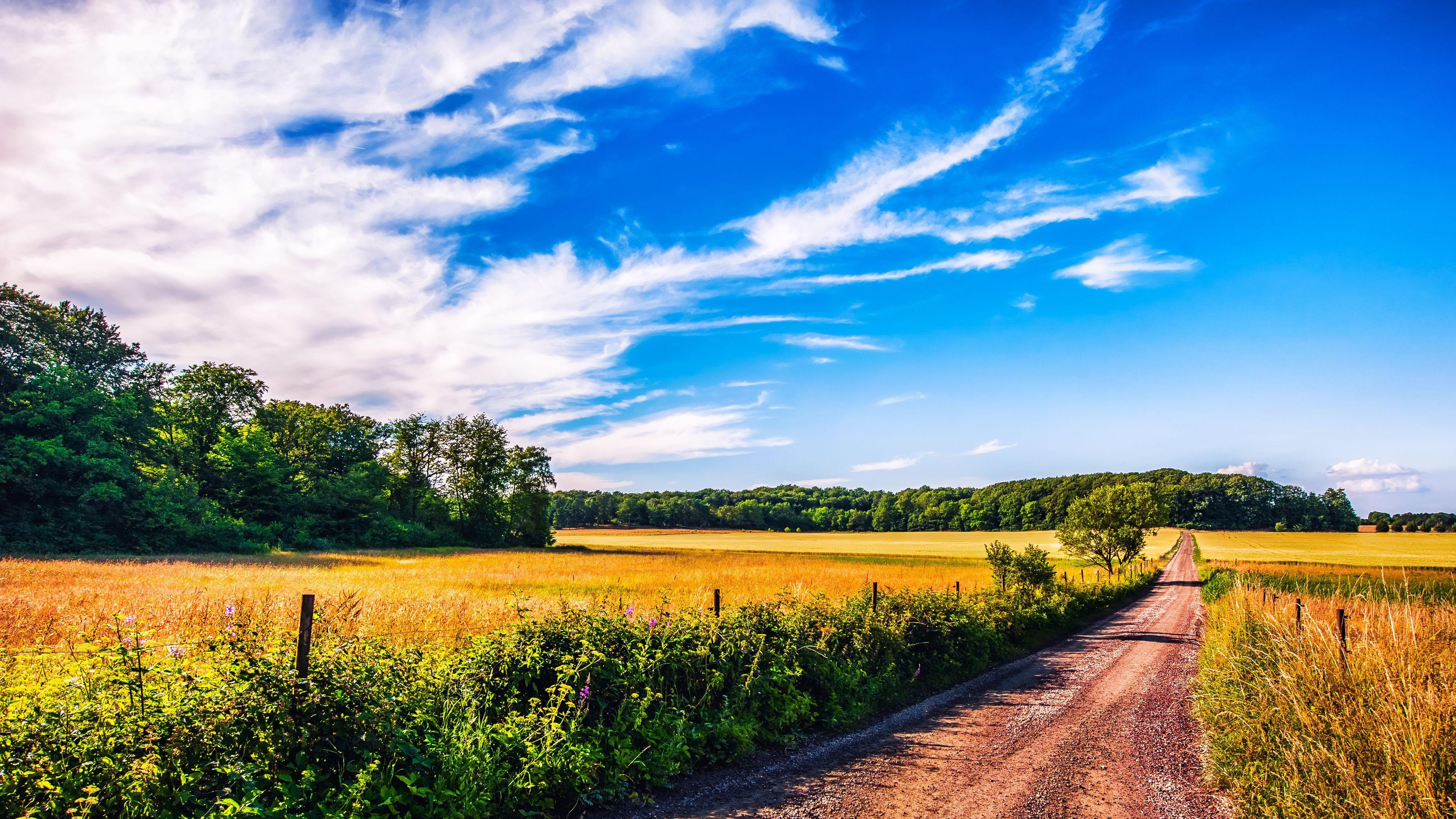 Landscape 4k Ultra Hd Wallpaper Summer Landscape 4k Ultra Hd
