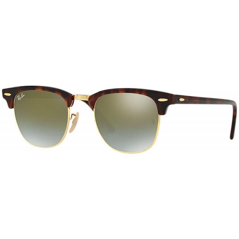 e7b54b5c01290 Acquista i fantastici occhiali RAY-BAN RB3016 990 9J 51 CLUBMASTER FLASH  LENSES GRADIENT al prezzo di 127,20 €