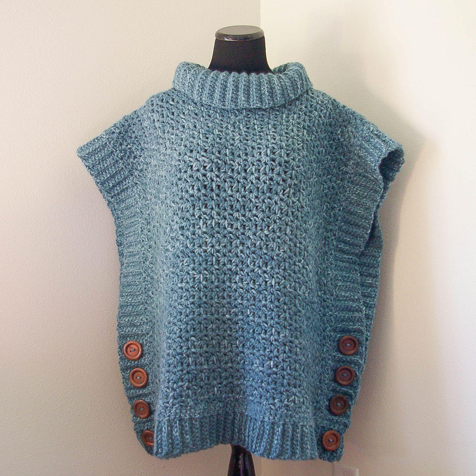 Ravelry: Amelia Poncho Adult Sweater by Megan Meyer | Crochet ...