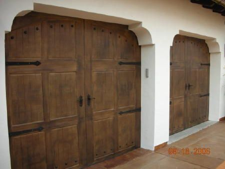 Faux Ceiling Beams Ideas | Painting A Faux Wood Grain On Garage Doors Makes  A Dramatic