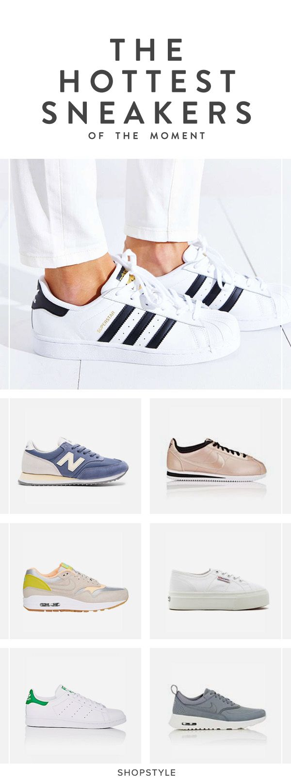 These are the sneakers your wardrobe needs this season