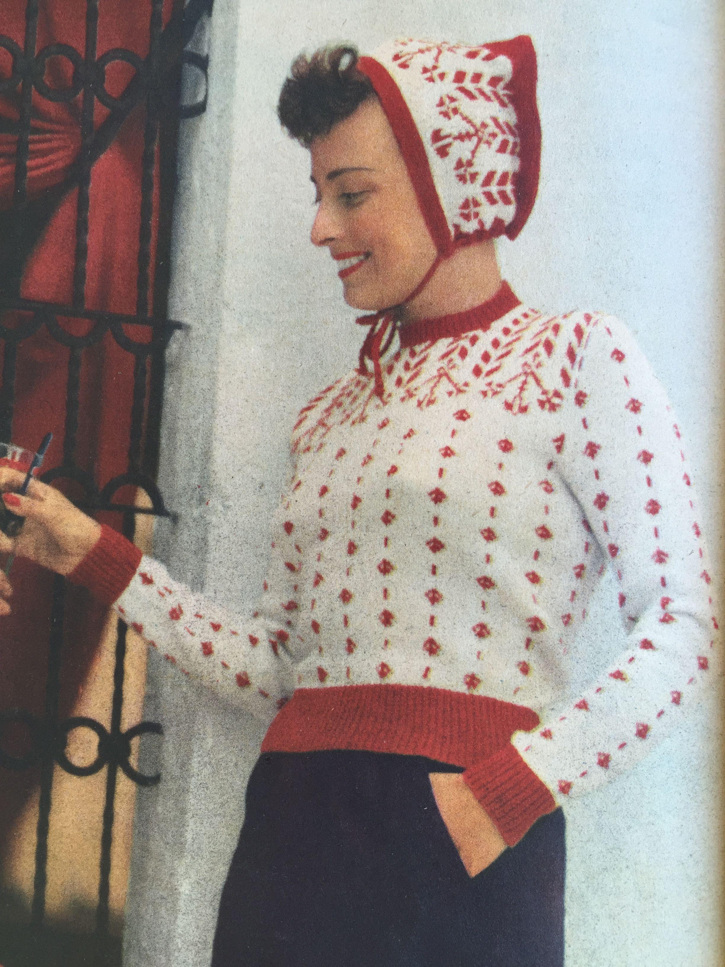 Stickat Nr. 1, 1950