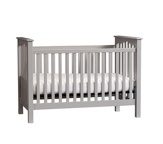 Kendall LowProfile Convertible Crib Cribs, Pottery barn