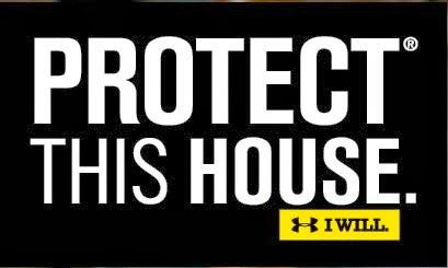 Notre Dame: We Must Protect This House...Like a Champion ...Under Armour Wallpaper Protect This House