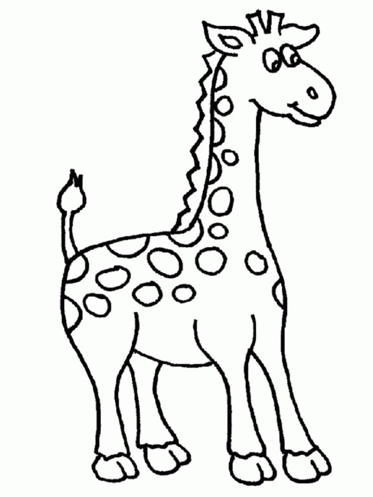 Giraffe Coloring Pages Printable Giraffe Coloring Pages ...
