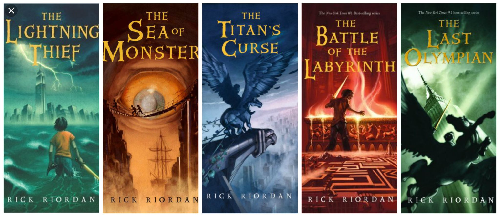 The Percy Jackson series was one of the first book series that I ...
