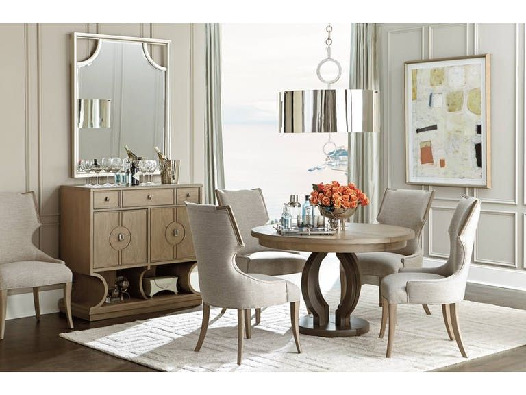 Magnificent Stanley Furniture Dining Room Round Dining Table 696 61 30 Interior Design Ideas Oxytryabchikinfo