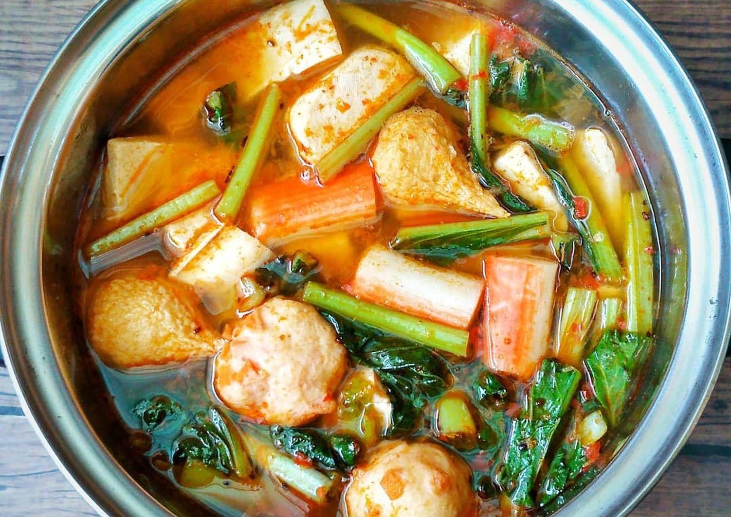Resep Tom Yam Soup Oleh Susan Mellyani Resep Resep Makanan Cina Makanan Sehat Resep Makanan