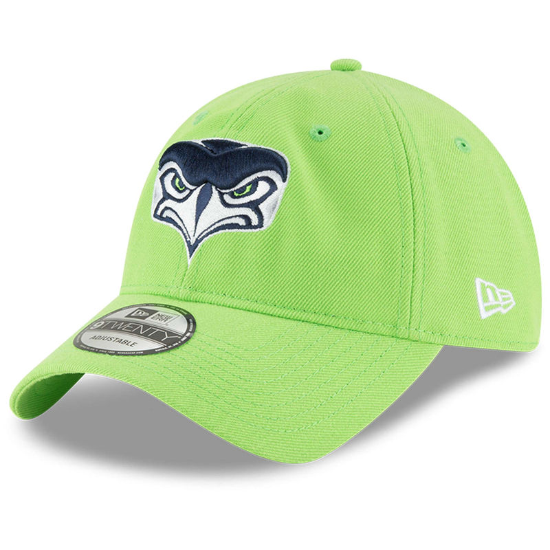 dirt cheap get new new high Seattle Seahawks New Era Alternate Team Logo 9TWENTY Adjustable ...