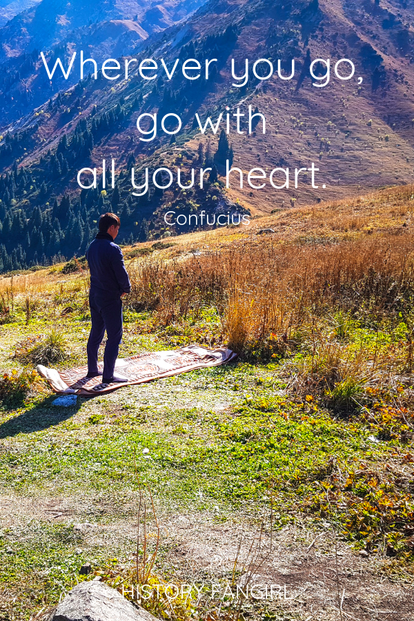 Wherever You Go Go With All Your Heart Confucius Short Travel Quotes Short Travel Quotes Travel Quotes Inspirational Travel Inspiration