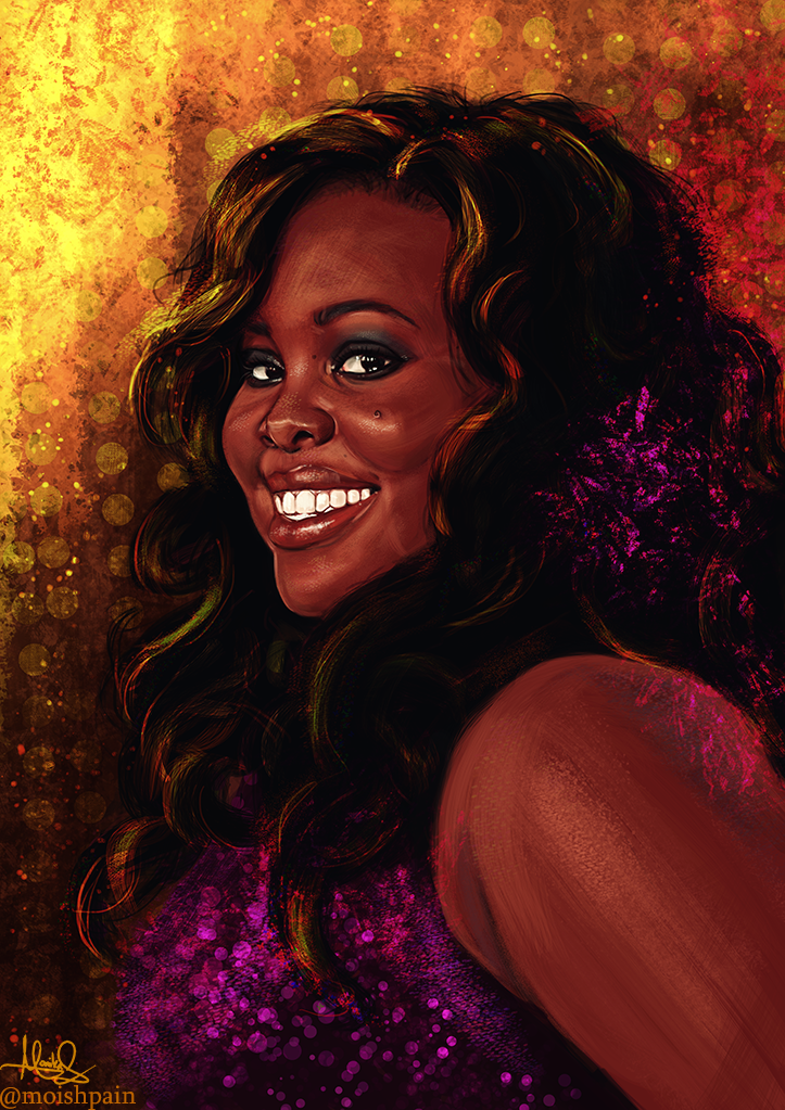Amber Riley by Monika Gross [©2015] (With images) Female