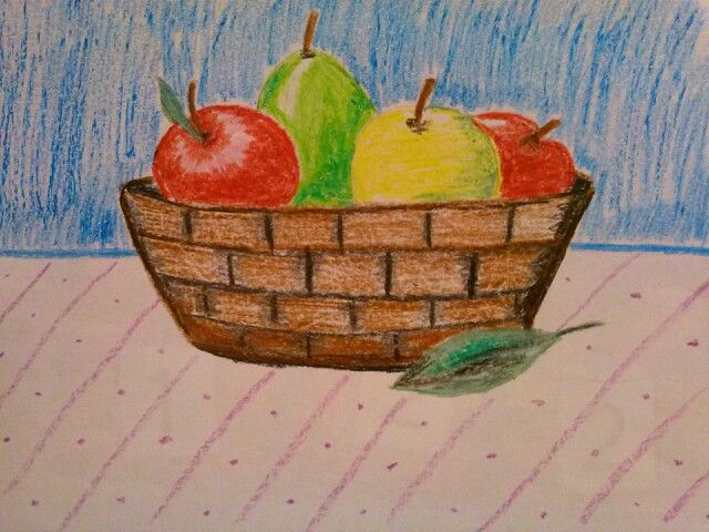 Still Life 2nd Grade Art Project Fruits In A Basket They Will Be
