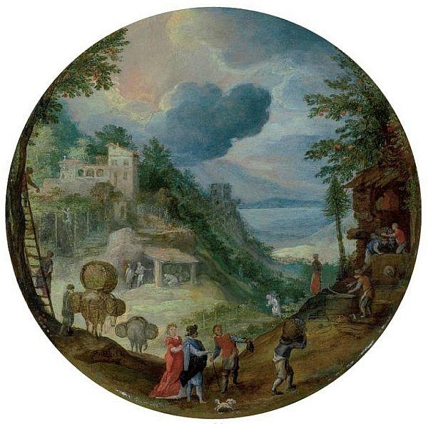 Paul Bril (1554-1626).