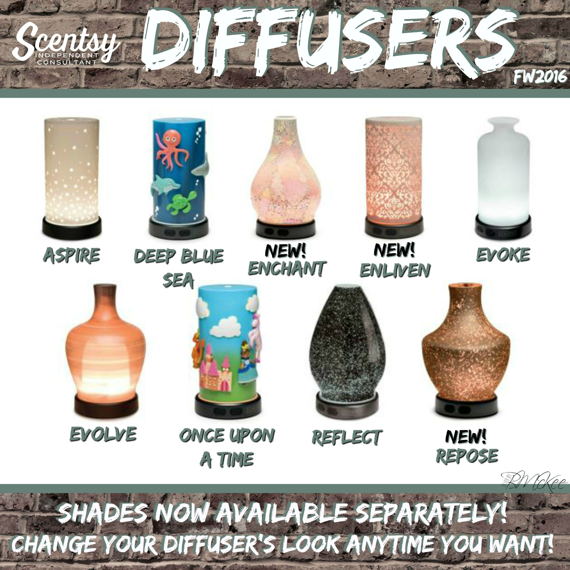 Scentsy Diffusers Fall Winter 2016 Flyer Created By Brittany