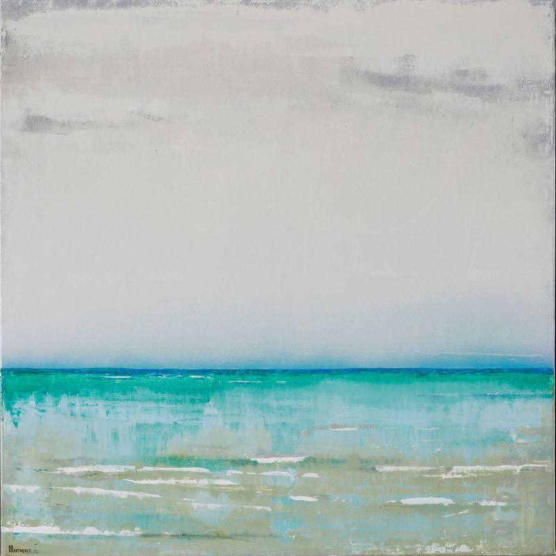 Gulf Of Mexico Naples 30x30 76x76cm Contemporary Art By Bo