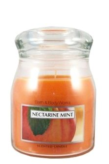 Nectarine Mint Scented Apothecary Jar Candle 14.5 oz