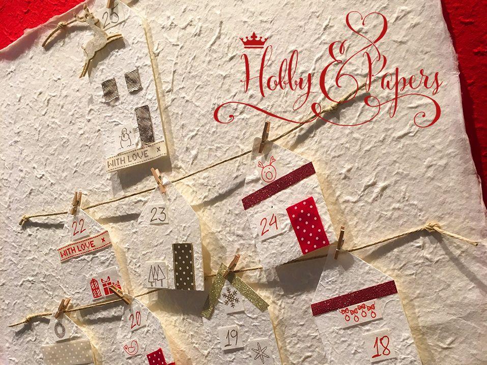Per noi che siamo rimasti un pò bambini ... il calendario dell'avvento è un must have che rende l'attesa del Natale trepidante e gioiosa! Oggi vi proponiamo un tutorial per realizzarne uno, davvero romantico che richiama le atmosfere invernali dei villaggi innevati  e che potrete realizzare facilmente seguendo il nostro video. https://youtu.be/JZjUWLbh-E4 www.hobbyandpapers.com