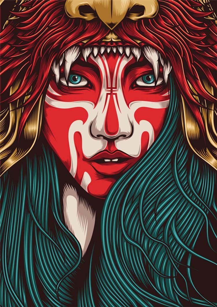 23 Examples Of Digital Arts Inspiration For Digital Creatives Illustration Art Art Inspiration Graphic Art