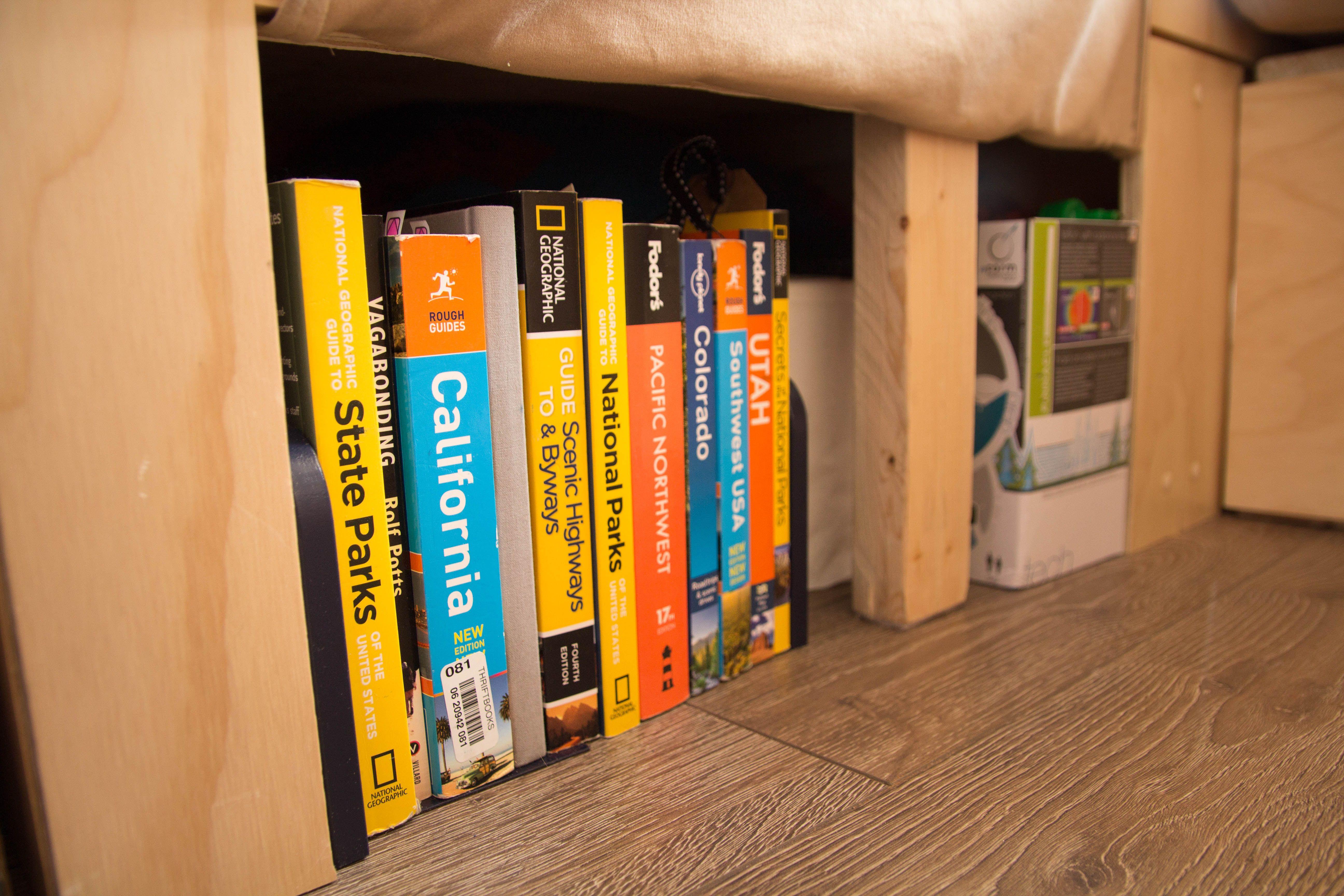 Van build shelf, DIY van shelf, cargo van conversion