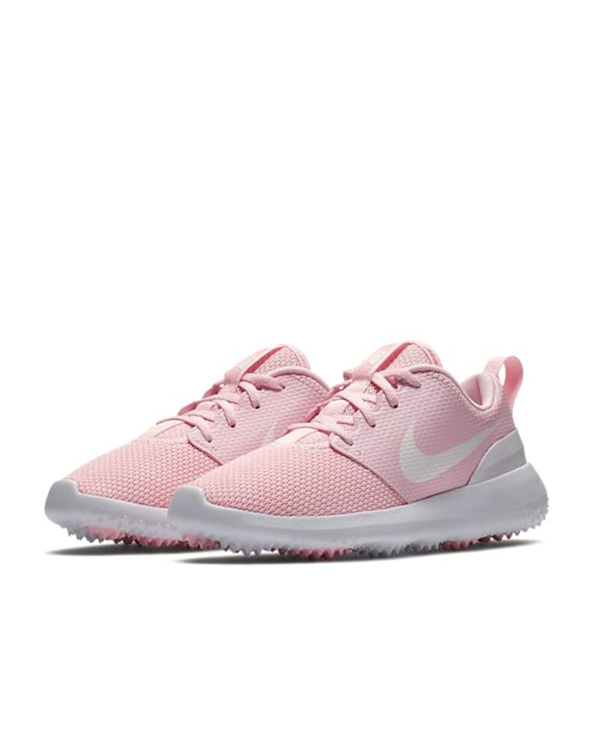 1279a2145b429 The Nike Roshe G Women s Golf Shoe features a mesh upper for breathability  and a modern look