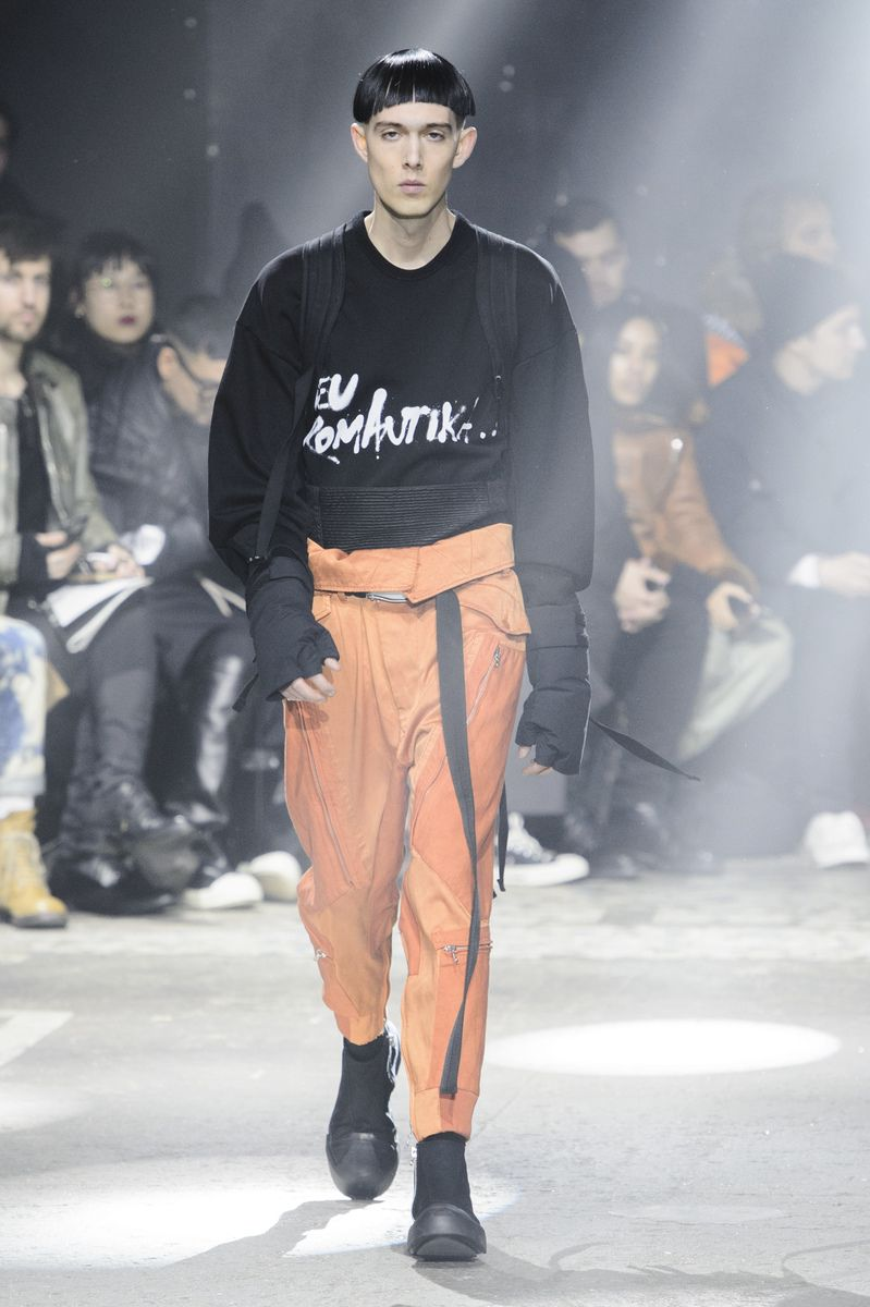 Julius fashion show Menswear Collection Fall Winter 2017 in Paris