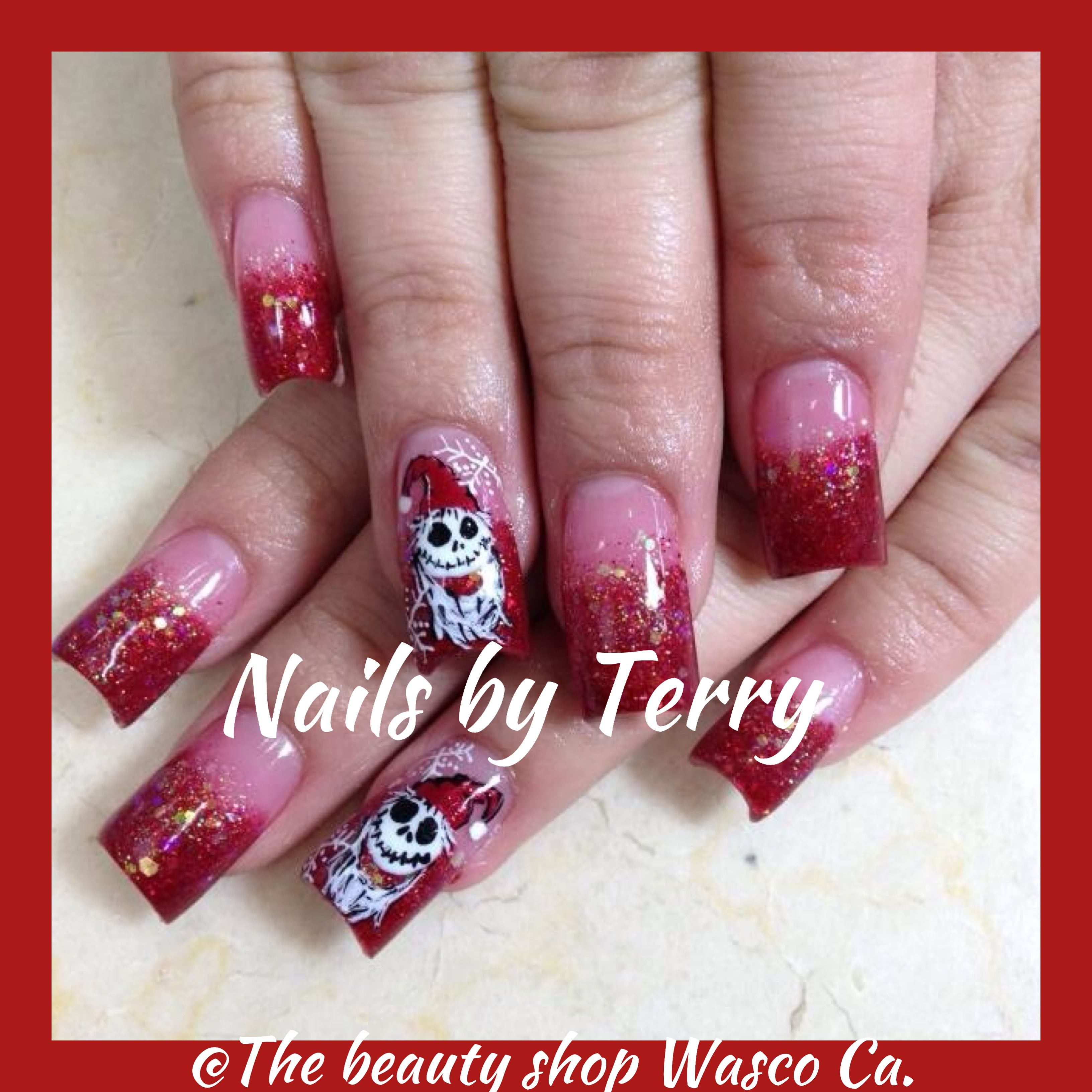 Fancy Jack Nightmare Before Christmas Nails Pictures - Nail Art ...