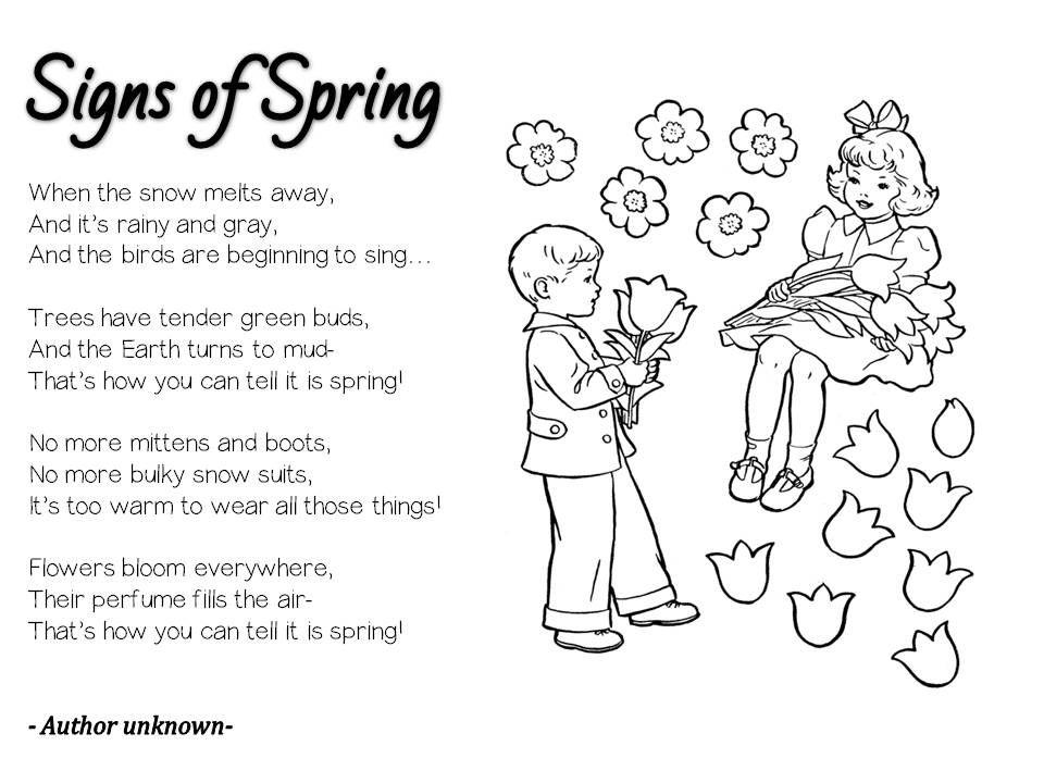 Spring Poems That Rhyme 5
