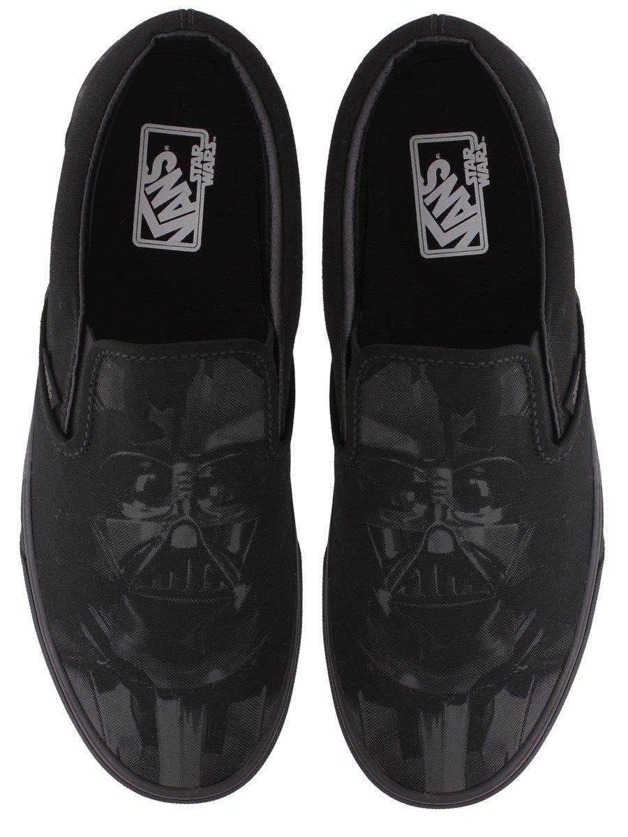 285192b7f49d61 Vans Star Wars Vader Slip-On Trainers  starwars  starwarsxvans  darthvader